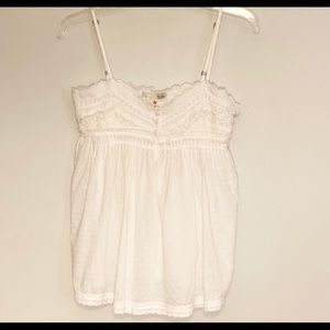 Joie lace cami top Size S